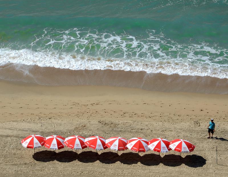 해수욕장의 아이콘 파라솔은 대한민국 1등 해운대의 상징이다