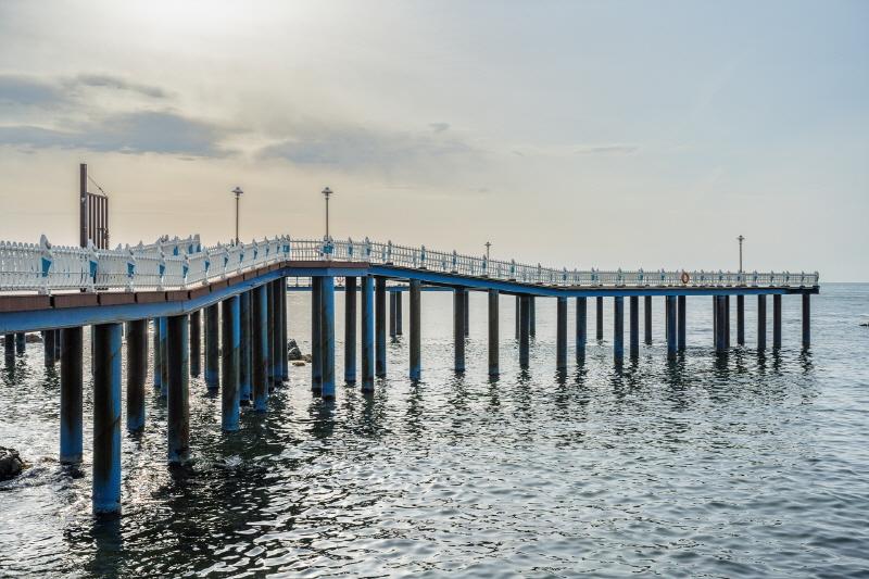바다로 다녀오는 산책. 영덕 삼사해상산책로