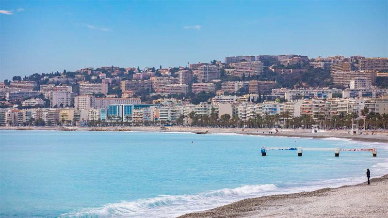 프랑스 니스 해변