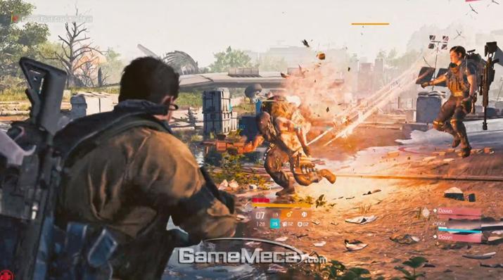 '더 디비전 2' 대표 이미지 (사진출처: Xbox 미디어 브리핑 시연회 갈무리)