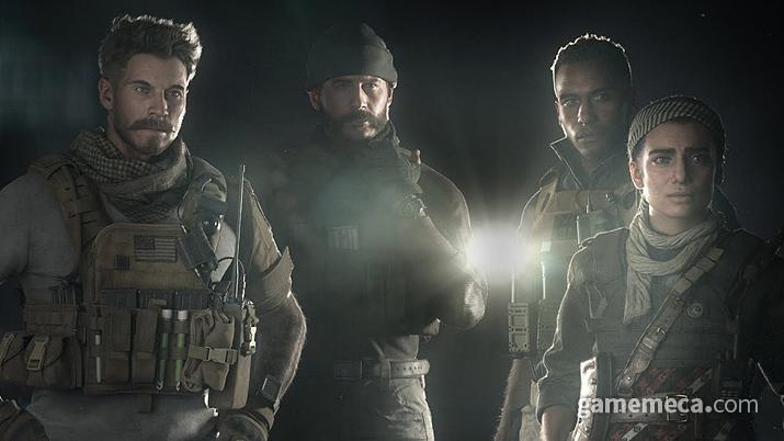 공개된 주요 캐릭터들 (사진출처: 인피니티 워드 공식 유튜브 채널)