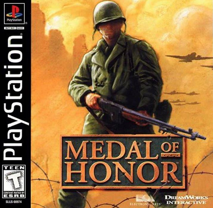 제 2차 세계대전 FPS 붐에 불씨를 지핀 '메달 오브 아너' (사진출처: Ebay)
