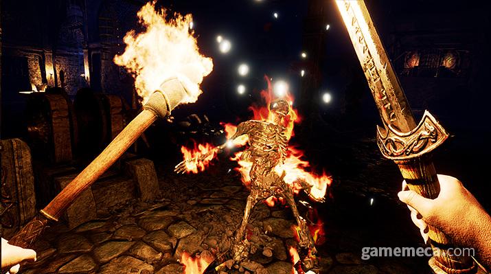 '아스가르드 래쓰' 다양한 무기 활용 (사진출처: 게임 공식 웹사이트)