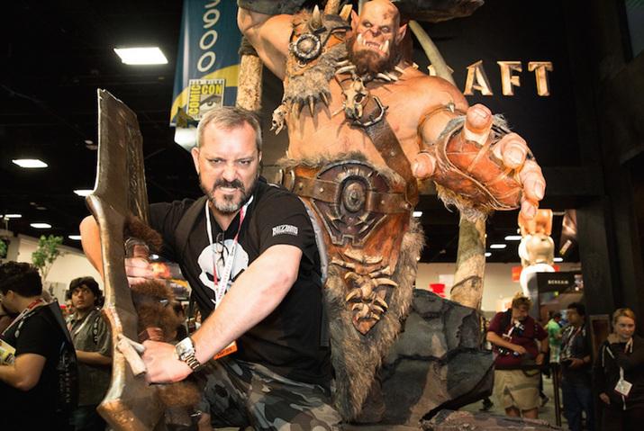 워크래프트 세계관의 아버지로도 유명한 크리스 멧젠 (사진출처: Game Reactor)