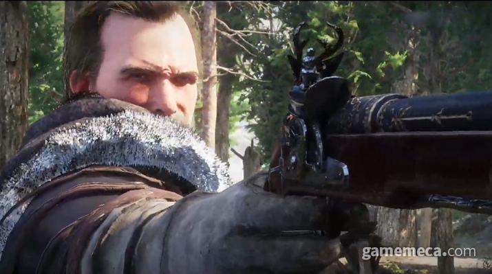 검은사막보다 진한 느와르 감성이 피어나는 신작 MMORPG '붉은사막' (사진출처: 생중계 영상 갈무리)