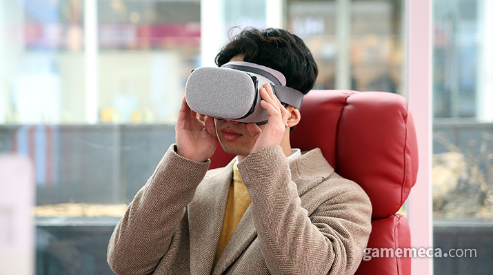 5G를 품에 안은 VR 업계, 귀추가 주목된다 (사진출처: LG유플러스 공식 블로그)