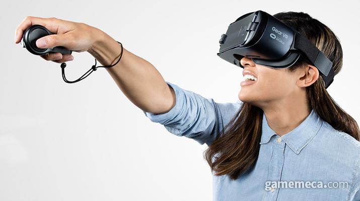 기어 VR 공식 이미지 (사진출처: 오큘러스 공식 웹페이지)