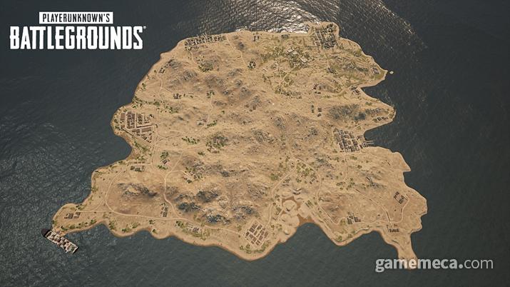 배틀그라운드 신규 맵 '카라킨' (사진제공: 펍지)