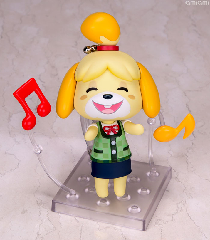 신나는 음표 아이콘과 밝은 미소. 진짜 게임 화면 같다 (사진출처: 아미아미 홈페이지)