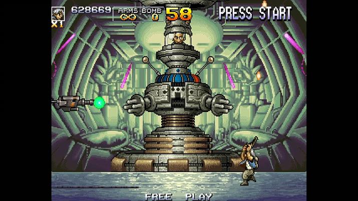 메탈슬러그 4 최종보스, 아마데우스 박사 (사진출처: Video Game Museum)
