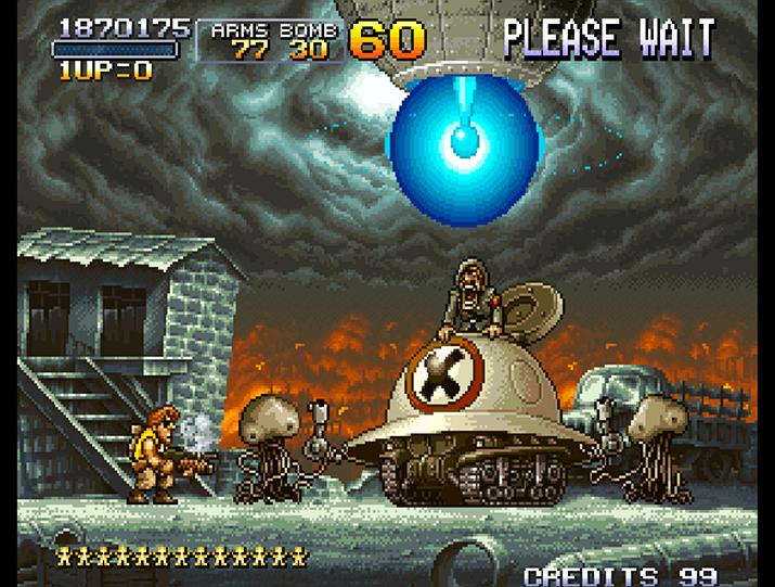 화성인에게 배신당하고 황망한 표정을 짓는 모덴 (사진출처: Video Game Museum)