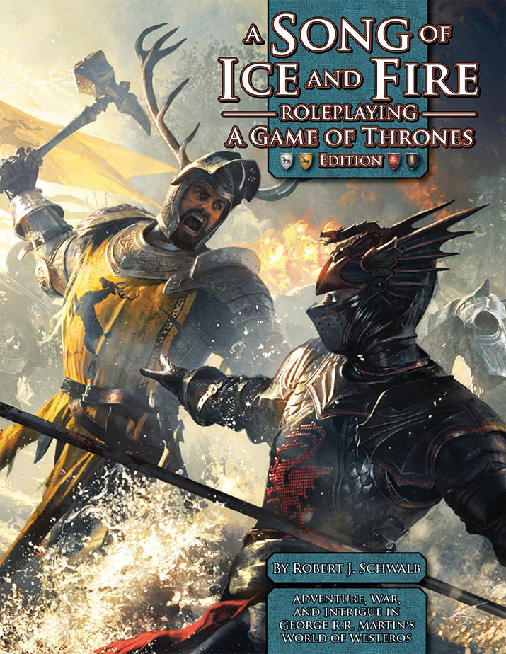 그린 로닌의 얼음과 불의 노래 RPG (사진출처: Drivethru RPG)
