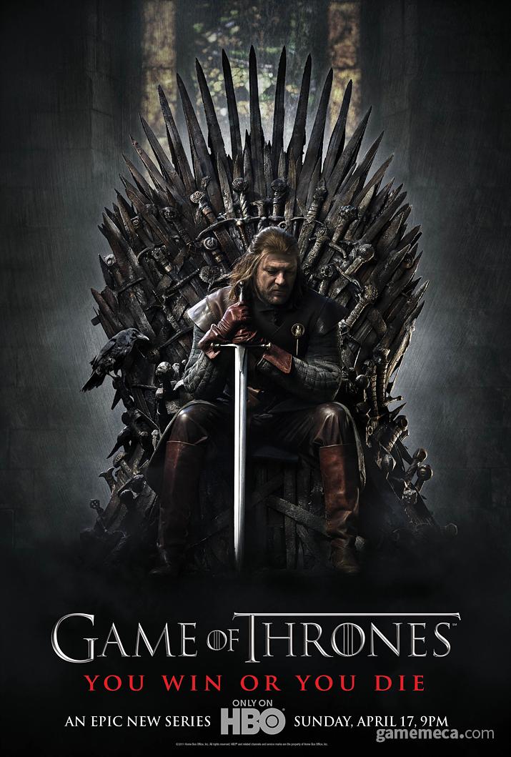 2011년 방영을 시작한 드라마 왕좌의 게임 포스터 (사진출처: HBO 공식 홈페이지)