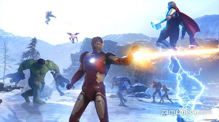 기본적으로 영화나 만화에서 보던 영웅들의 특징을 정확히 표현했다 (사진: 게임메카 촬영)