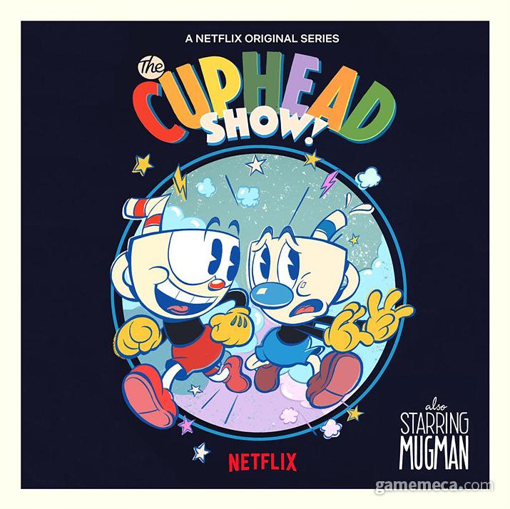 넷플릭스 시리즈로 제작 중인 '컵헤드 쇼!' (사진출처: 넷플릭스 공식 트위터)