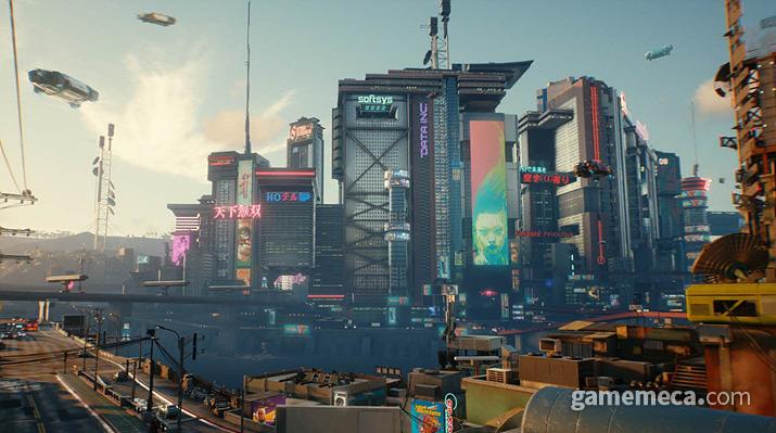 나이트 시티 외 다른 지역으로 향해보자 (사진출처: 사이버펑크 2077 공식 사이트)