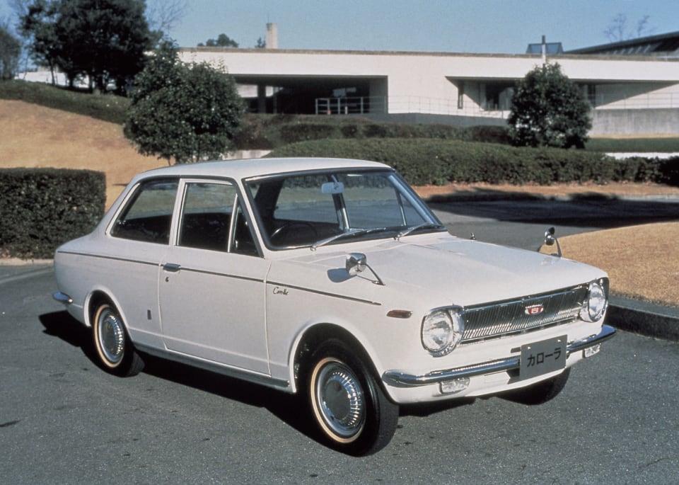 1966년에 처음 생산된 토요타 코롤라는 지금까지 누적 판매량 5,000만 대를 넘겼다