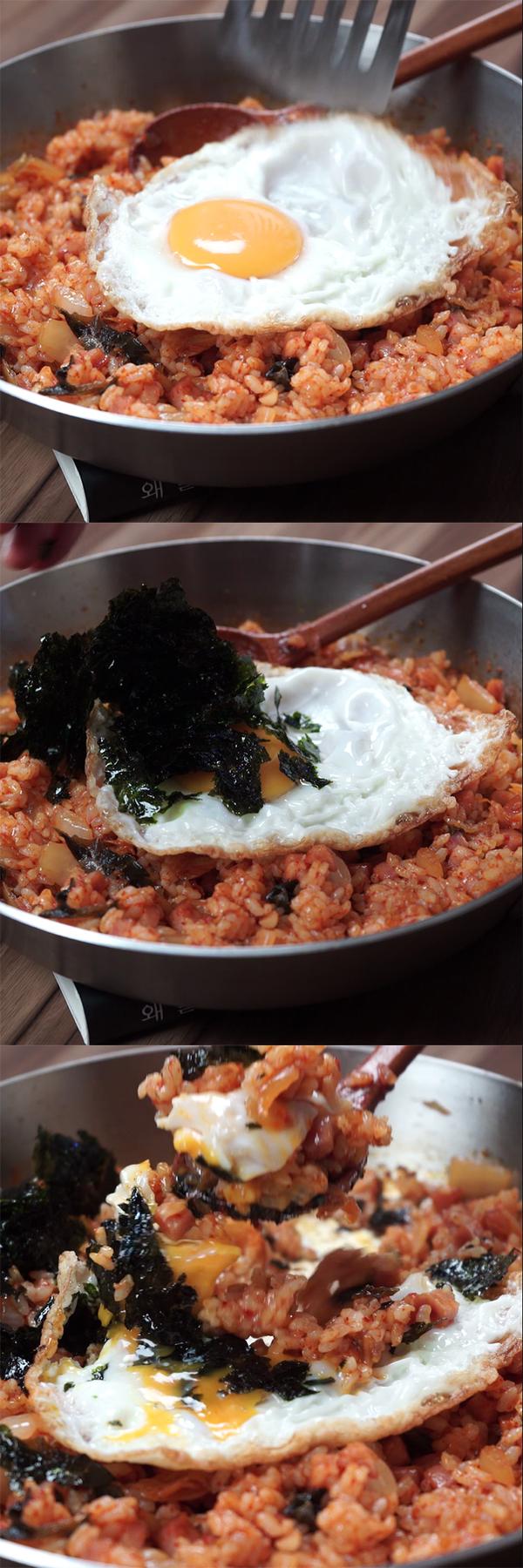 gold-recipe-of-kimchi-fried-rice 05