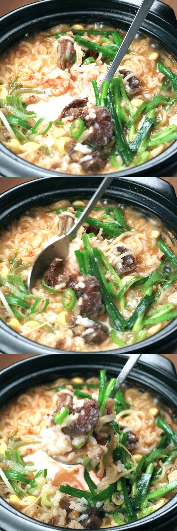 korean-sausage-and-rice-soup 06