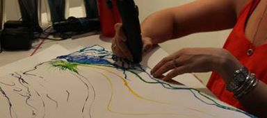 3D 펜으로 그린 예술