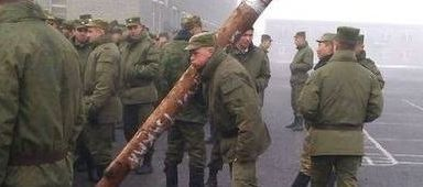 러시아식 군기교육
