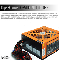 PC �� ���� �� �̻� �����������?! 6����� ��ⷯ�Ŀ� ����! [SuperFlower SF-500P12A(M)]