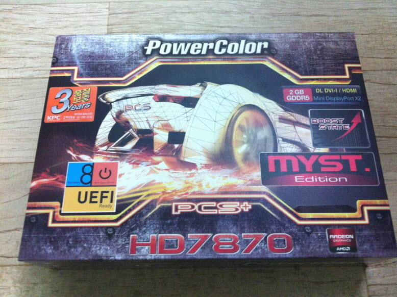 PowerColor HD7870 PCS+ MYST. Edition ����