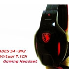 SADES SA-902 Virtual 7.1CH Gaming Headset