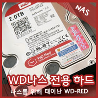 ������� HDD�� �ִ�? ���? WD Red�� �ٶ� NAS HDD !