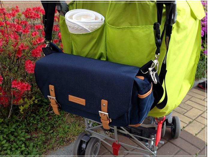 유모차가방으로 단정하고 편리한 외출...