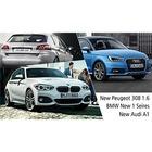 수입 디젤 해치백 삼총사, 아우디 A1 vs BMW 뉴 1시리즈 vs 푸조 308 1.6