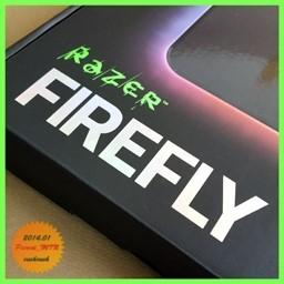 아름다운 마우스 패드 Razer FIREFLY ...