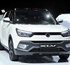 쌍용자동차, 제네바 모터쇼서 티볼리 에어 선보여