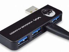 [종료] FUN한 특가 100원 경매_와사비망고 딴트공 Cableless Subpiece Fit USB 3.0 허브 유전원