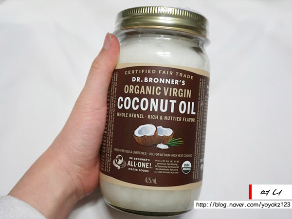 코코넛 오일 효능 : 닥터브로너스 코...