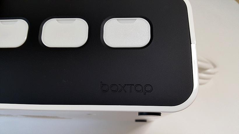 케이블정리와 USB 충전 겸용 BOXTAP...