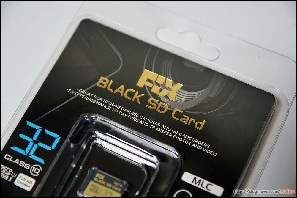 추천 마이크로 SD 픽스 블랙 SD카드...