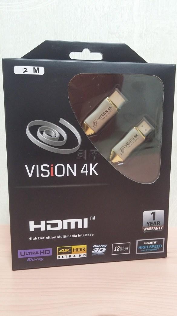 테라베이 VISiON 4K HDMI 2.0 케이블 ...