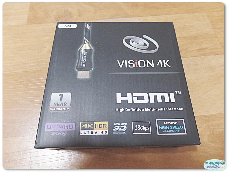 테라베이 VISiON 4K HDMI2.0 케이블, ...