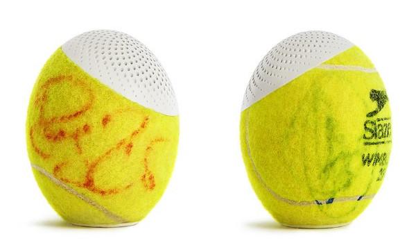 은퇴한 테니스공 무선 스피커