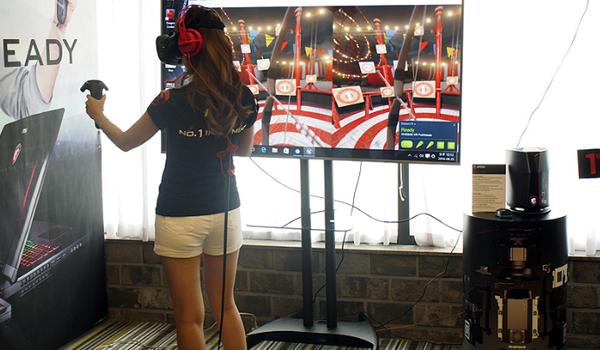 MSI 노트북은 VR시대 강림!