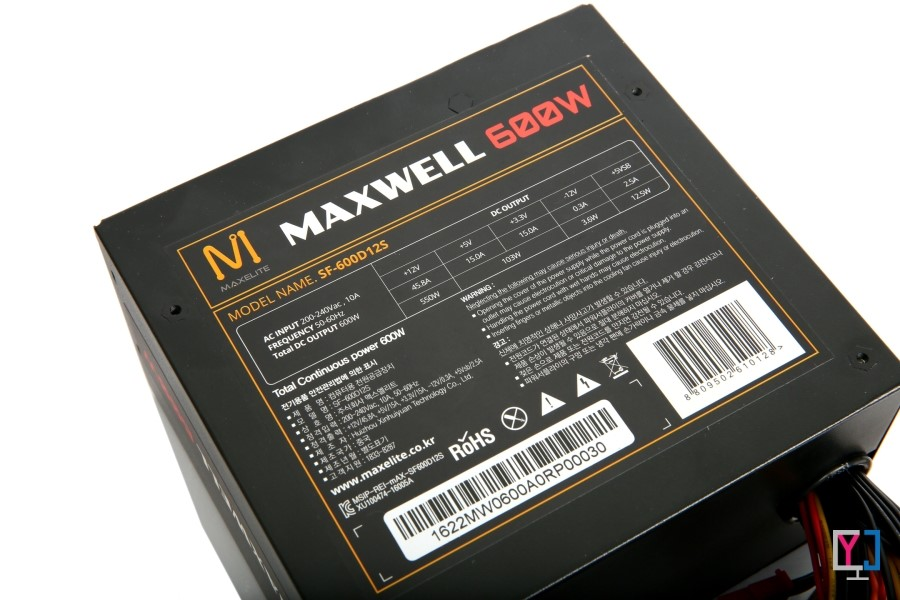MAXELITE MAXWELL 600W 3.3V DC to DC FOR DDR4