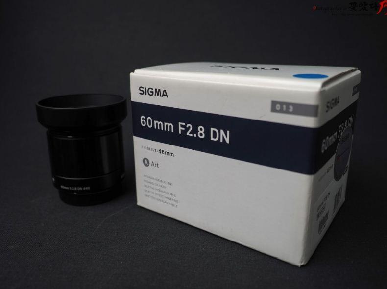 시그마 미러리스 ART 렌즈 60mm F2.8 ...