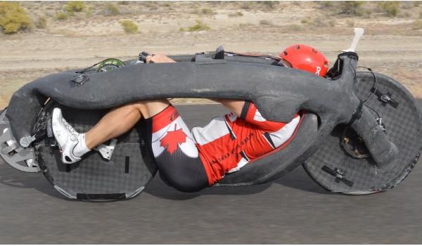 시속 144km…괴물 자전거
