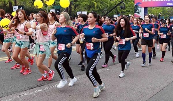 마이런 서울 마라톤 개최