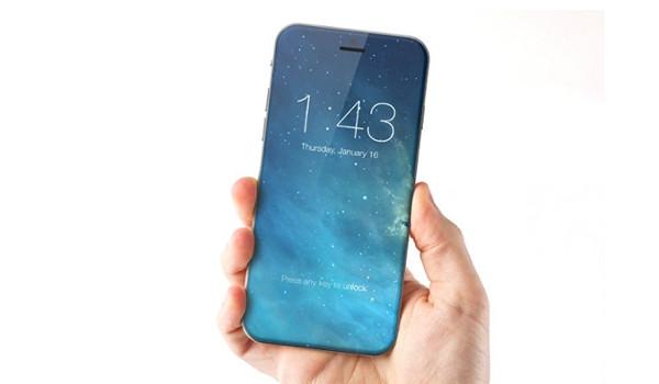 제로베젤 아이폰 8, 개발 중?