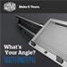 쿨러마스터 다기능 노트북 스텐드 MasterNotepal 시리즈 출시