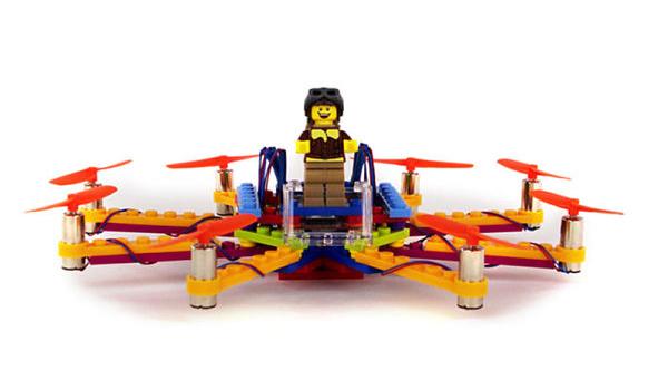 플라이브릭스, 레고로 만든 드론