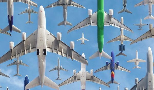 이착륙 장면만.. 이색 공항 사진