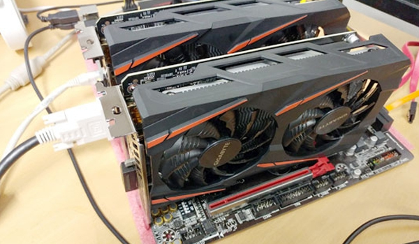 AMD RX460 크로스파이어 도전!